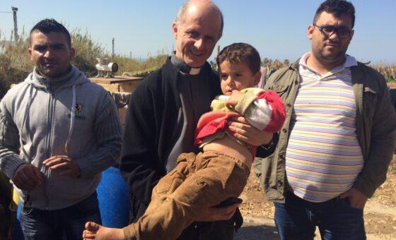 Padre Damiano Puccini in Libano